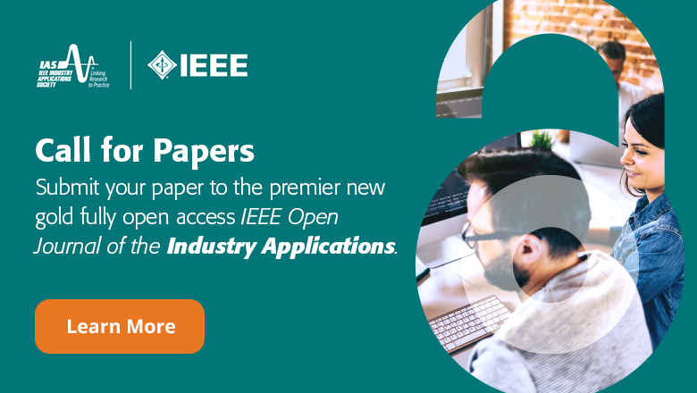 Call for Papers - IEEE Open Journal of Industry Applications