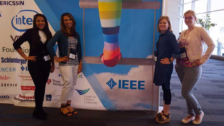 IAS supports Women in Engineering (WIE) activities such as travel grant to IEEE sponsored WIE conferences across the world